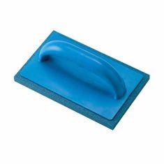 Ausonia gladilka za fugiranje keramičnih ploščic z modro gobico, 21x14cm, plastičen ročaj