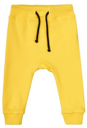 Garnamama chłopięce dresy POP ART 62 żółty