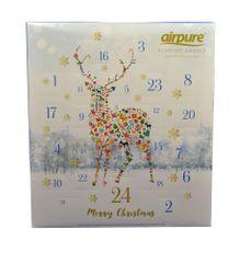 Airpure Adventní kalendář vonných svíček Jelen - rozbaleno