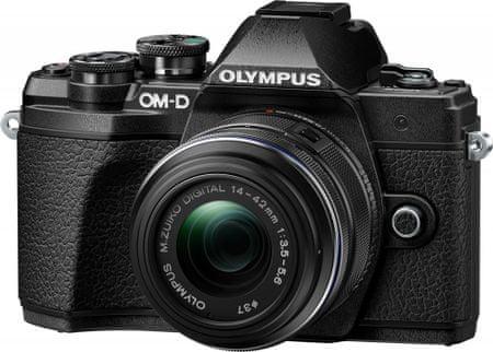 Olympus aparat E-M10 Mark III + 14-42 II R + 40-150 R Black