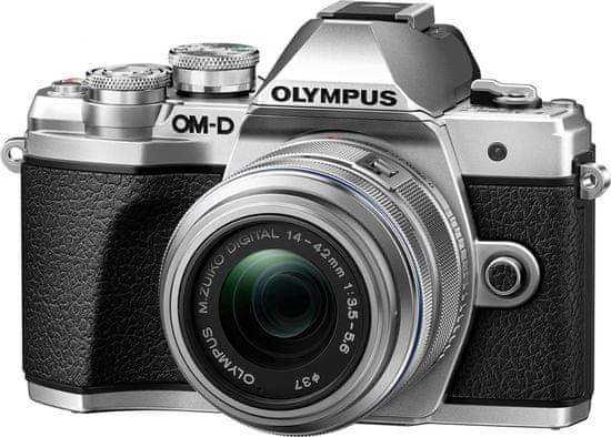 Olympus OM-D E-M10 Mark III + 14-42 mm II R + 40-150 mm R Silver