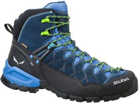 Salewa moški pohodniški čevlji Ms Alp Trainer Mid Gtx 0361, modri, 39