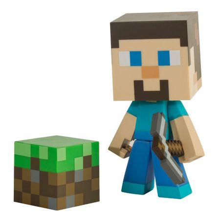 Figura Minecraft - Steve 6 (csákánnyal) (Jinx)