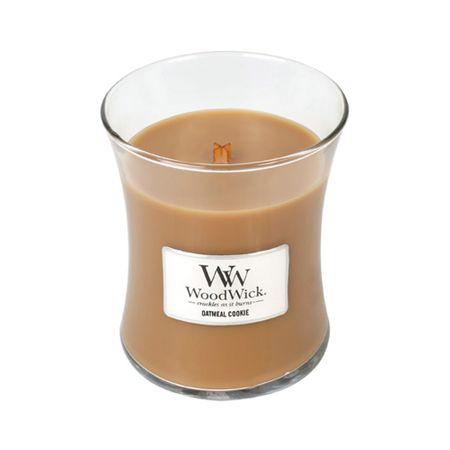 Woodwick dišeča sveča Ovseni piškoti, 275 g