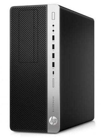 HP namizni računalnik EliteDesk 800 G4 TWR i7-8700/16GB/SSD512GB/W10P (4KW70EA#BED)