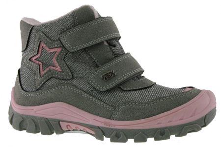 V+J buty zimowe dziewczęce 29 jasnoszary