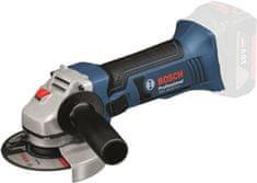 BOSCH Professional akumulatorski kotni brusilnik GWS 18-125 V-LI Professional, solo orodje (060193A307)