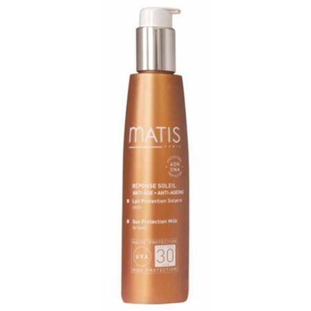 Matis Paris ( Sun Protection Milk for Body ) SPF 30 150 ml