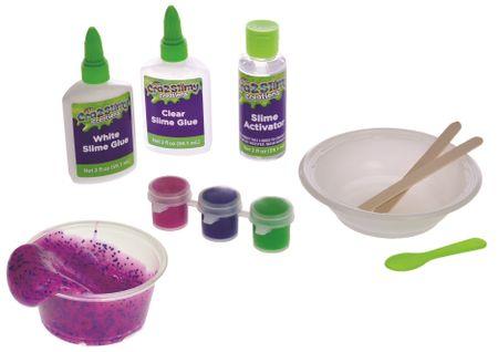 c5a921e5a Mikro hračky Sada na výrobu slizu Cra-z-slimy neon+trblietky | MALL.SK