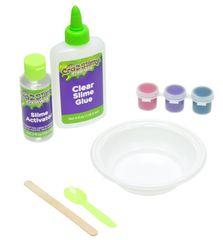 Mikro hračky Sada na výrobu slizu Cra-z-slimy měnící barvu