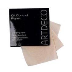 Art Deco Arcbőr zsírosságot ellenőrző papír(Oil Control Paper) 100 db