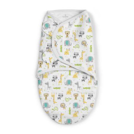 Summer Infant spalna vreča SwaddleMe, z živalmi