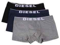 Diesel zestaw bokserek męskich Damien 3 szt.