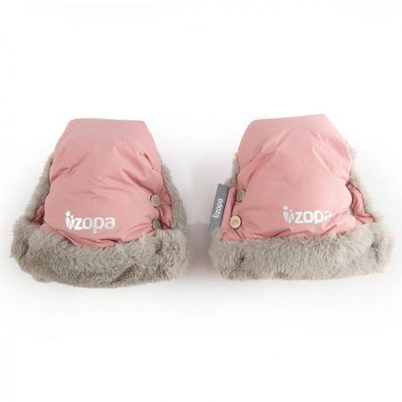 ZOPA Téli kesztyű Fluffy, Old Pink