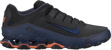 Nike Men'S Reax 8 Tr Training Shoe/Black/Thunder Blue-Hyper Crimson 42