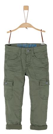 s.Oliver chlapčenské nohavice 110 zelená