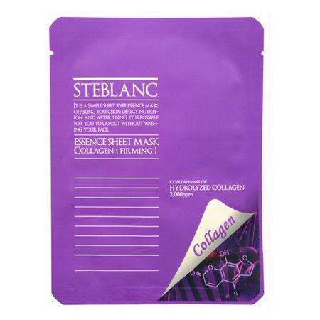 Steblanc Collagen bőrfelszín kiegyenlítő arcmaszk (Essence Sheet Mask Collagen) 20 g