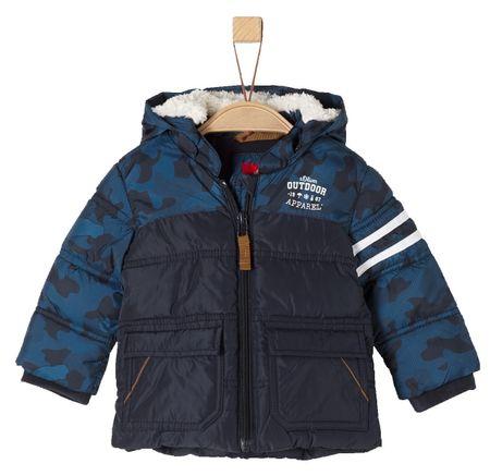 5453404502 s.Oliver B fiú kabát 3993_aw18 kék 86 | MALL.HU