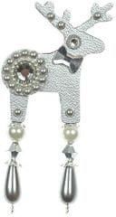 Deers Stříbřík apró ezüst szarvas