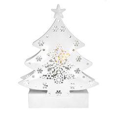 Solight LED kovový vánoční stromek
