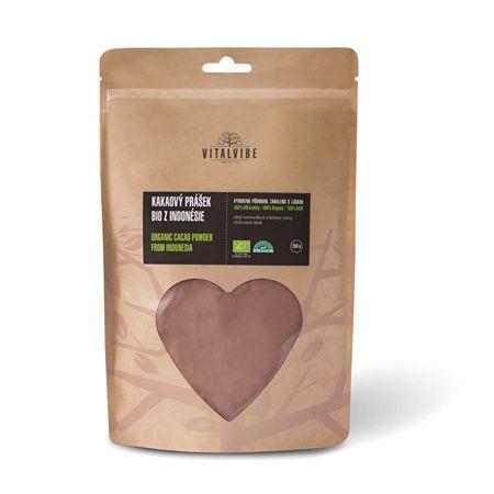 Vitalvibe Kakaový prášok BIO z Indonézie 250 g