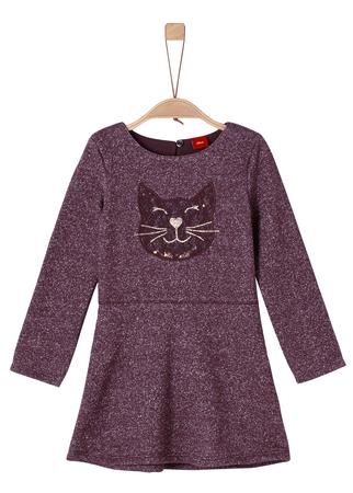 s.Oliver dívčí šaty 98 fialová