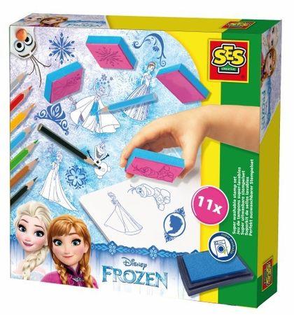 SES štampiljke Frozen