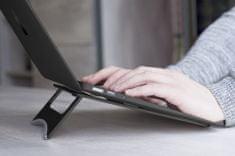 DESIRE2 přenosná hliníková podložka pod notebook, černá WTT-AS02BK
