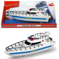 DICKIE zabawka łódź policyjna 23 cm