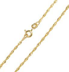 Brilio Zlatý dámsky náramok Lambáda 18 cm 261 115 00197 žlté zlato 585/1000