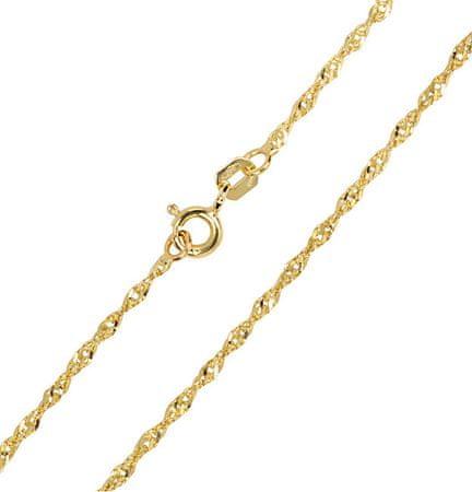 Brilio Ženska zlata veriga Lambada 50 cm 271 115 00177 rumeno zlato 585/1000
