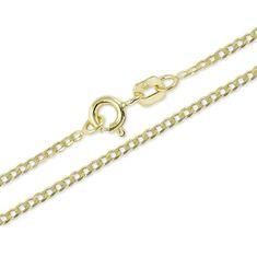 Brilio Originální řetízek ze žlutého zlata 50 cm 271 115 00204 zlato žluté 585/1000