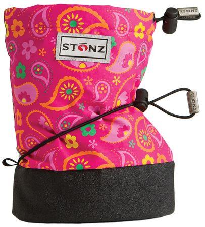 Stonz dječje nepromočive cipele / snježne čizme Paisley, roze, 19