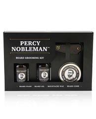 Percy Nobleman Darčeková sada starostlivosti o fúzy (Beard Grooming Kit)