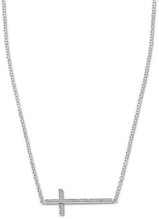 Lotus Style Jeklena križna ogrlica LS1874-1 / 1