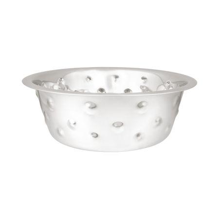 Huhubamboo Nerezová miska Bubble - stříbrná 280ml