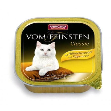 Animonda Vom Feinsten Classic paštika pro kočky kuřecí játra 100g