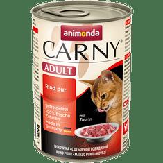 Animonda Carny adult konzerva pro kočky hovězí 400g