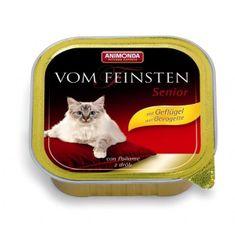 Animonda Vom Feinsten Senior paštika pro starší kočky drůbeží 100g