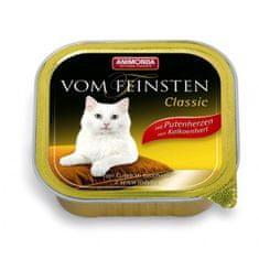 Animonda Vom Feinsten Classic paštika pro kočky krůtí srdíčka 100g