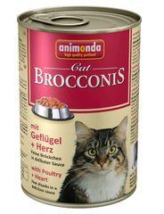 Animonda Brocconis konzerva pro kočky kuře+srdce 400g