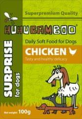 Huhubamboo Kapsička s kuřecím masem 100g