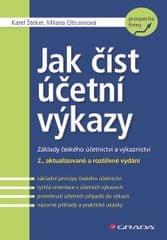 Šteker Karel, Otrusinová Milana,: Jak číst účetní výkazy - Základy českého účetnictví a výkaznictví