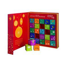 English Tea Shop Adventní kalednář - kniha červená BIO 25 pyramidek