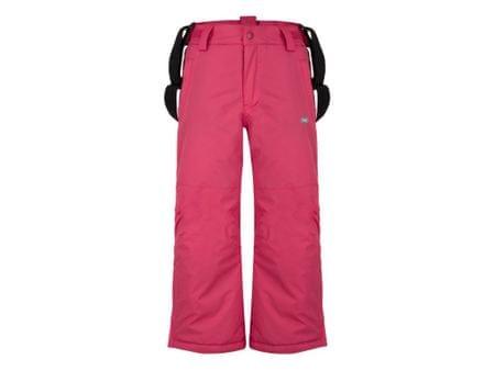 Loap dívčí lyžařské kalhoty Flops 146/152 růžová