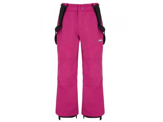 Loap dívčí softshellové kalhoty Luser 134/140 růžová
