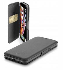CellularLine Book Clutch preklopni ovitek za iPhone XS Max, črn - Odprta embalaža