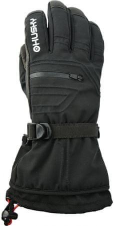 Husky muške skijaške rukavice Erase, M, crne