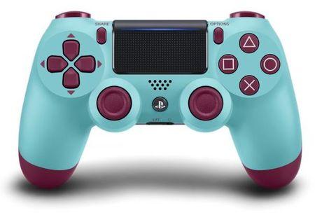 Sony igralni plošček za PS4 DualShock 4 V2, Berry Blue