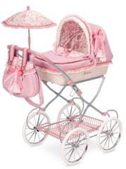DeCuevas Martina V Összecsukható babakocsi esernyővel, játék babáknak